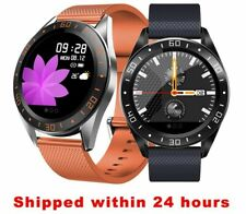 Fashion Smartwatch Case Alloy Smart Watch Men Women Heart Rate Fitness Bracelet