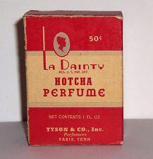 La Dainty Hotcha Perfume Box Vintage Paris TN