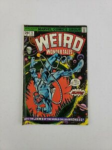 Weird Wonder Tales #15 Apr 1976 Marvel Comics The Man Who Owned The World!