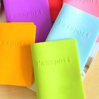 Cards Beautiful Documents Folder Passport Holder Leather Bags Silica Gel