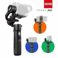 US Stock Zhiyun Crane M2 Handheld 3-Axis Gimbal Stabilizer For Camera Smartphone