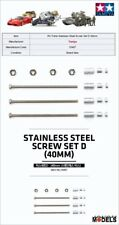Mini 4wd 2mm STAINLESS STEEL SCREW SET D (40mm) Tamiya 15407 New Nuovo