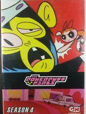 Powerpuff Girls Season 4 DVD Dual Sided Region 1 10th Anniversary