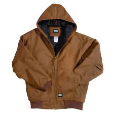 key Insulated duck heavy duty work jacket zipper waterproof hood hoodie carhartt