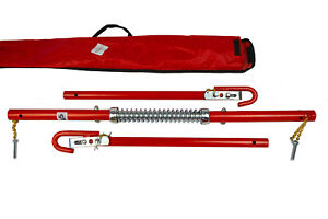 2 TON 2000KG TOWPOLE CAR VAN RECOVERY TOWING BAR TOW POLE+ DAMPER SPRING + BAG