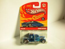 Hot Wheels Classics Series 5 #26/30 Convoy Custom Blue with Redlines