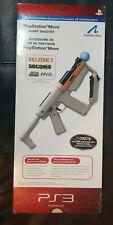 PlayStation Move Sharp Shooter For PlayStation 3 PS3 Gray Light Gun SharpShooter