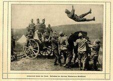 Zeitvertreib hinter der Front c.1917