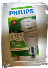 Lampada Philips Risparmio Energetico 20W 1250lm warm white 2700°K Rapid Start