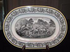 "Villeroy & Boch 1748 Audun Ferme House And Garden Collection 13"" 1/ OVAL PLATTER"