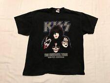 KISS The Farewell Concert Tour 1973-2000 T-shirt Size XL