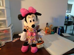 Holiday Disney 21 in Tall Minnie Mouse with Easter Basket Greeter