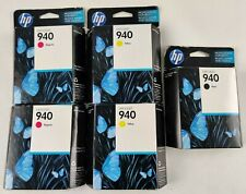 HP 940 Ink Cartridge 3-Pack MAGENTA YELLOW BLACK ONLY EXPIRED
