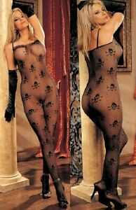 SOH90229 Lace Front Body Stocking