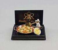 """9911033 Reutter Puppenstuben-Miniatur """"Gemüsepfanne"""""""