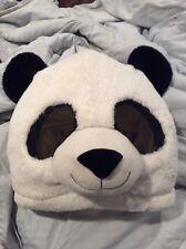 Dan Dee Panda Bear Head Mask Bao Bao Furry Big Greeter Mascot Halloween Costume