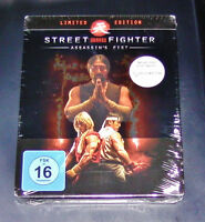 Street Fighter Assassin´S Fist Edición Limitada Steelbook Blu Ray Nuevo & Ovp