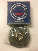 NSK UCFC206N AV2S Ball Bearing Flange Unit, New And Free Shipping