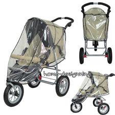 Universal Raincover Silvercross Pop Pushchair Buggy Baby Stroller Ventilated PVC
