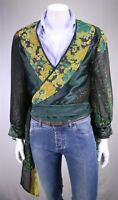Bill Whitten Custom Made 1970's Stage Performance Sash Shirt Chicago Small-Med