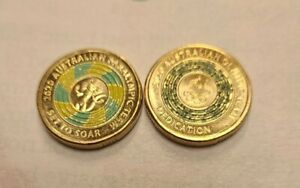 2020 Olympic /ParalympicTEAM ' $2 DOLLAR COINS ,Dedication,set to soar