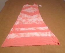 NWT Rip Curl Sunland Maxi Dress Cream and Orange Medium Long Dress NEW Sexy Speg