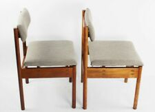 Pair of Retro Danish Style Teak Dining Chairs [5860 A ]