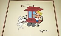 jay ward signed cel peabody sherman rare special scene animation art cell