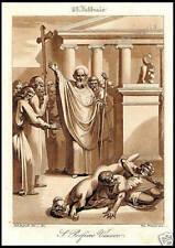 STAMPA ORIGINALE 1800 S. PORFIRIO VESCOVO