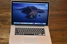 """Apple MacBook Pro Retina 15"""" Quad Core i7 2.5 GHz 16GB RAM 500GB SSD Mid 2014"""