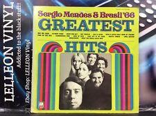 Sergio Mendes & Brazil 66 Greatest Hits Album Vinyl Rec AMLS985 Samba World 70's