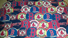"SET of 56- 1"" PRECUT ""BOSTON RED SOX"" Bottlecap Images.Birthdays,hairbows A's"