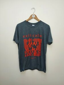 Exit Calm Official Tour T Shirt - 2013 - The Future is Not What it Used to Be