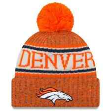 Denver Broncos New Era 2018 NFL Official On-Field Sideline Sport Knit Hat