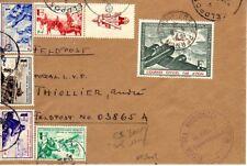 FRANCE Timbre de de la LVF n° 2-6/10 sur lettre