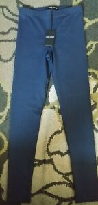 David Lerner  High Rise Leggings navy Blue Size small BRAND NEW WITH TAGS!