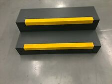 Coarse External Yellow Anti Slip GRP Stair Nosing – Off Cuts – 620 x 55 x 55mm