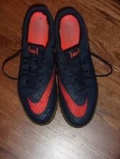 NIKE HYPERVENOM X FINALE IC Soccer Shoes 749887-484 Blue & Red Size 10 Ex Cond