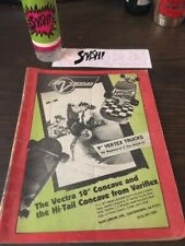 Thrasher Skateboard Magazine August 1984 NO FRONT COVER AS IS 8/84 Aug