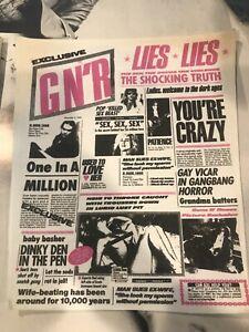 Guns N Roses Vintage Back Patch Large