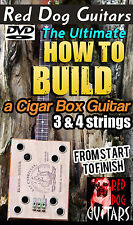 How to Build Cigar Box Guitar DVD Make your own 3 & 4 string Blues Gitarre