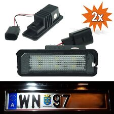 LED Kennzeichenbeleuchtung VW Golf 4 5 6 7 Passat CC Limo Polo Lupo Beetle WP
