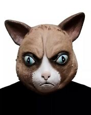Cattitude Mask Angry Cat Grumpy Fancy Dress Halloween Adult Costume Accessory