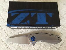 New Zero Tolerance ZT 0456 Sinkevich KVT Manual Folding Knife CPM-20CV Steel