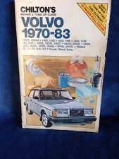 Chilton's Volvo 1970-83 Car Repair and Tune-up Guide