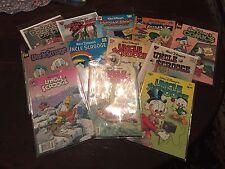 Uncle Scrooge (7), Donald Duck (3),  Walt Disney (2) Comics- In Plastic  Sheet