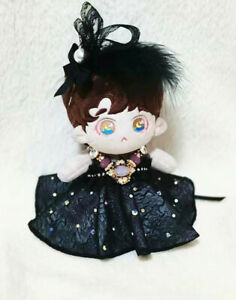 Original Hand Made Doll Clothes Clothing The Black Dress Suit Queen Outfits Cos
