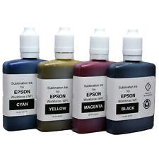 Sublimation Ink for EPSON Workforce (WF) - CMYK Multipack 4x60ml - UK Stock