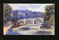 C.A. Grove - Late 19th Century Watercolour - Richmond Bridge