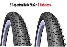 2 Tyres Mtb 26 For Bikes Bicycle Mitas Scylla Tubeless Supra 26x2.10